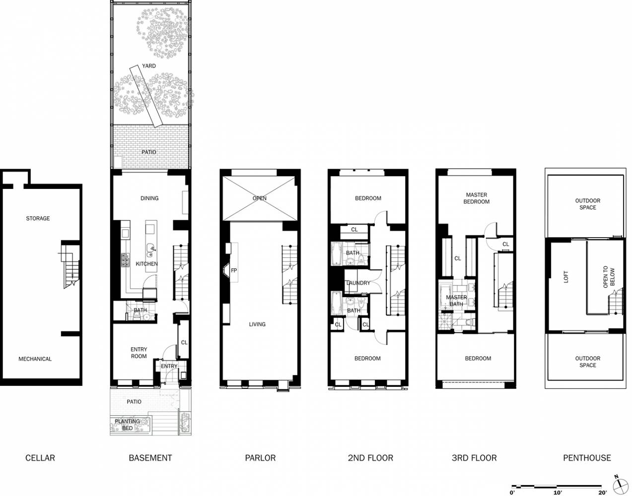 IIT College of Architecture on chicago theater seating layout, chicago brownstone floor plans, chicago loft floor plans, london row houses floor plans,