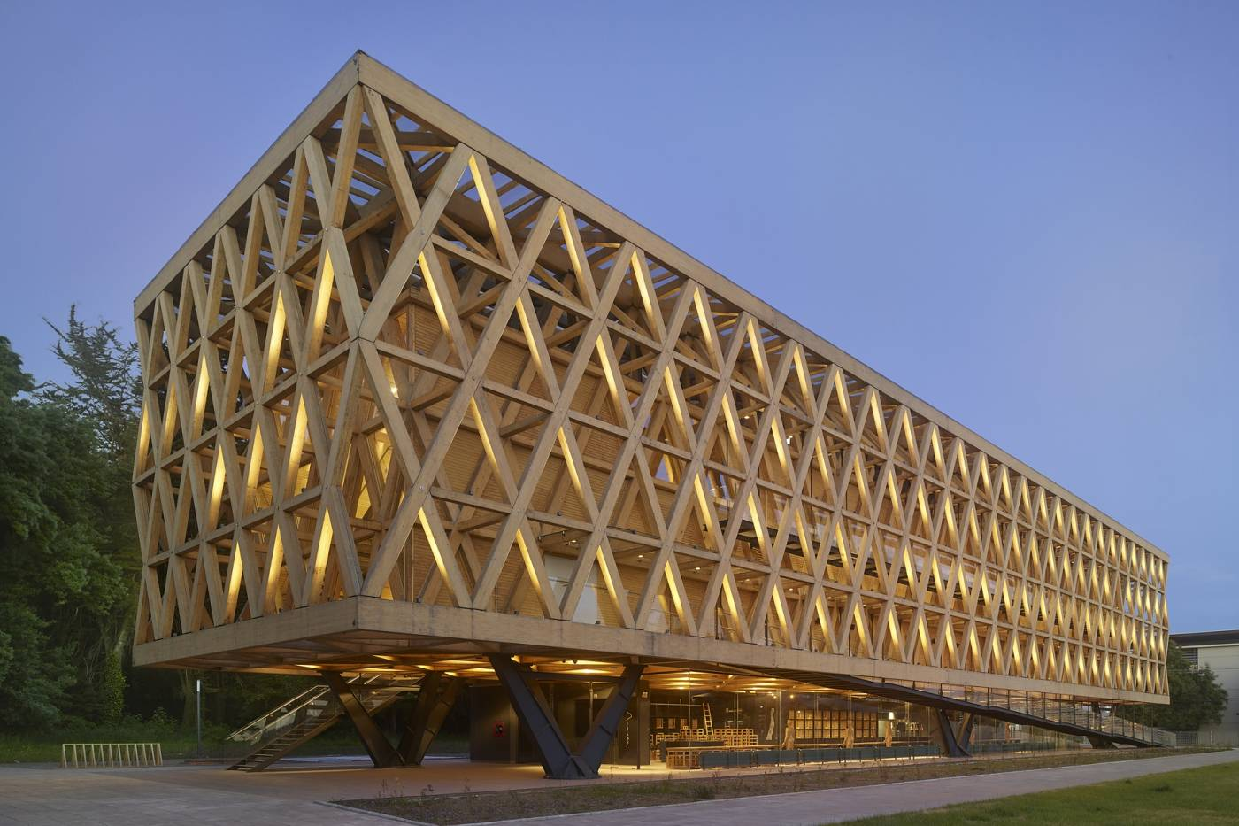 Wood Elevation Network : Iit college of architecture