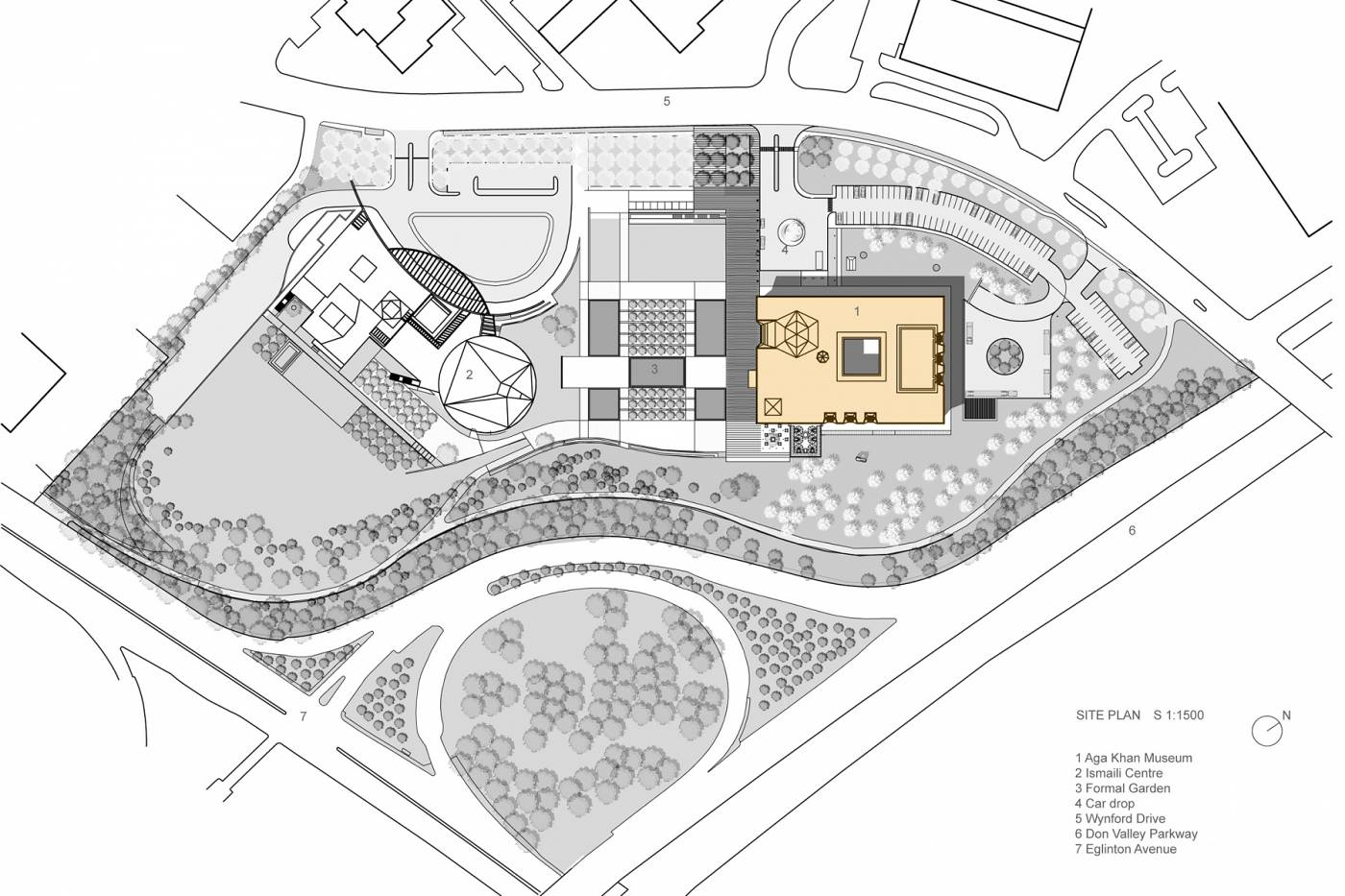 Iit college of architecture for Site floor plan